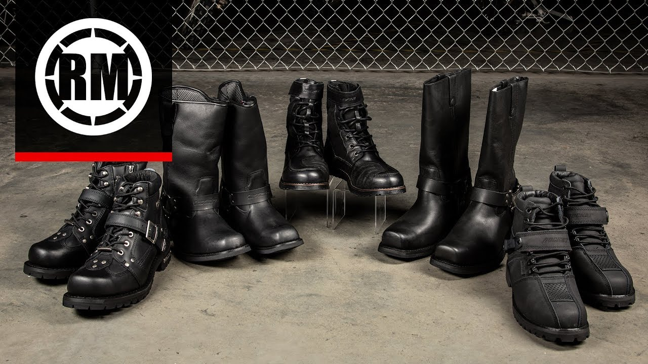 Best Motorcycle Boots 2019 Best Cruiser Motorcycle Boots | 2019   YouTube