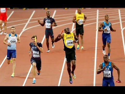 Usain Bolt Injured London 2017