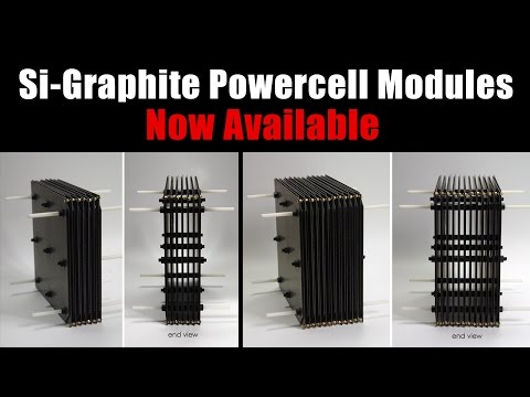 Si-Graphite Powercell Modules - Now Available