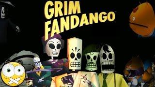 Grim Fandango Remastered PC Gameplay - Sem Comentários (No Commentary) Dublado PT-BR