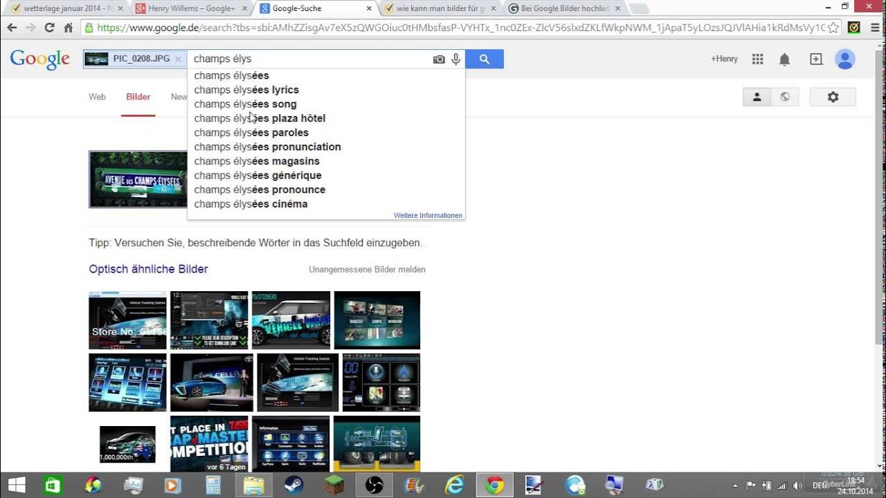 Eigene Bilder Suchen Google