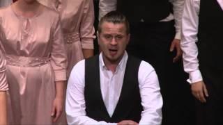"""Festino Chamber Choir"" aus Russland mit dem Lied ""Bohemian Rhapsody"" beim 10.Internationalen Chorwettbewerb 2014 in Elsenfeld, Landkreis Miltenberg  Leitung: Alexandra Makarova"