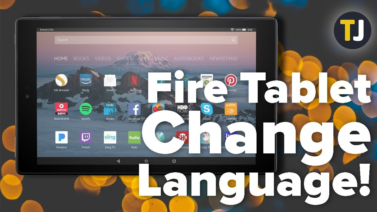 How To Change the Language on Your Amazon Fire Tablet!