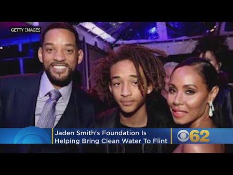 Jaden Smith Foundation Bringing Clean Water To Flint