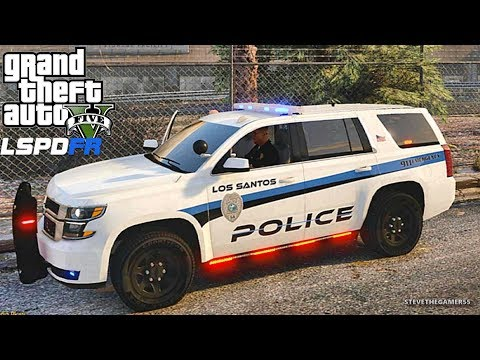 LSPDFR #504 TAHOE PATROL!! (GTA 5 REAL LIFE POLICE PC MOD)