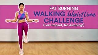 Fat Burning Walking Waistline Challenge (Low Impact, Beginner Friendly) | Joanna Soh