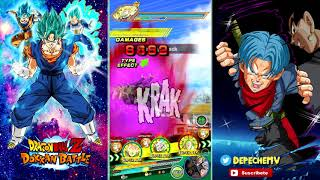 Team Villanos Vs Goku SSJ3 TEQ | DBZ Dokkan Battle En Español
