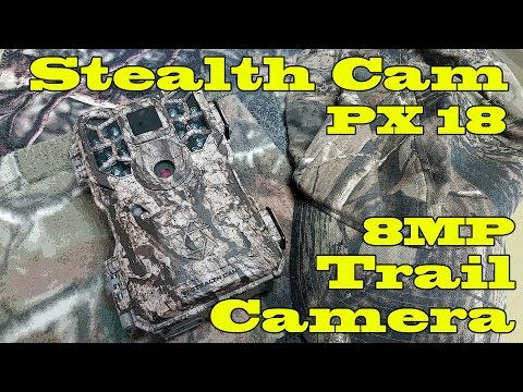 Stealth Cam PX18 8MP Trail Camera Review!!!