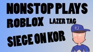 Roblox - Lazer tag - Siege On Kor - Quad