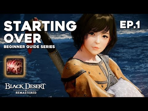 Black Desert ► STARTING OVER Episode 1 | The Journey to Softcap Begins (2019)