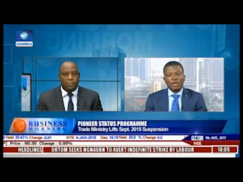 Yomi Olugbenro evaluates the review of the Pioneer Status Incentive Scheme