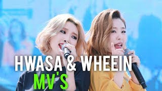 MAMAMOO's WHEEIN AND HWASA (MV Reactions)