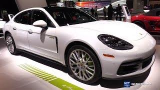 2018 Porsche Panamera 4 E Hybrid - Exterior and Interior Walkaround - 2018 Chicago Auto Show