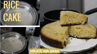 VLOG , I TRIED A RECIPE : Mkate wa sinia mchele  / wa kumimina  / rice cake