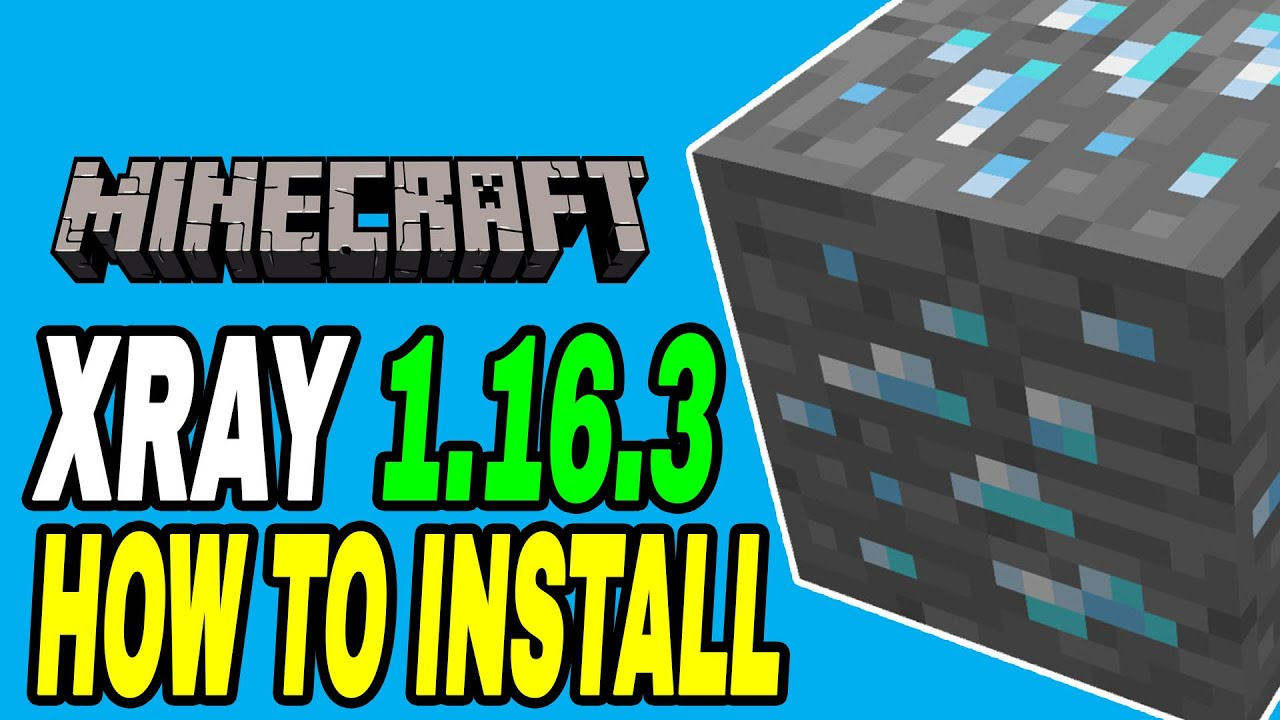 Minecraft How To Install XRAY Ultimate 12.126.12 Texture Pack Tutorial