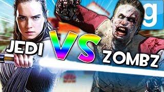 JEDI VS ZOMBIES?! | Gmod Sandbox Fun (STAR WARS MODS, ZOMBIE MODS)