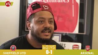Troopz & Dt's Reaction To Arsenal's Late Winner Against Sheffield Utd! | Watchalong Highlights