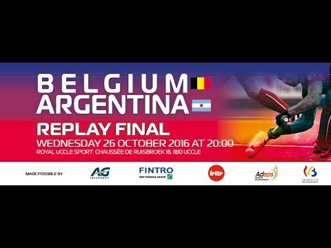 Aftermovie replay Olympic final BELGIUM-ARGENTINA