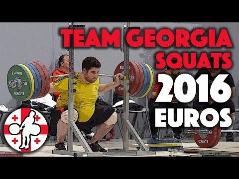 Team Georgia - Squat Session