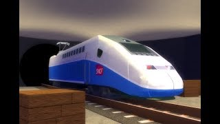 terminal Railways Ep #2 (Roblox). We have the TGV and new line of train 😱😱 (Gameplay in Spanish)