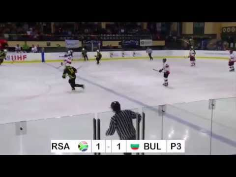 IIHF World Champs South Africa. SA vs Bulgaria