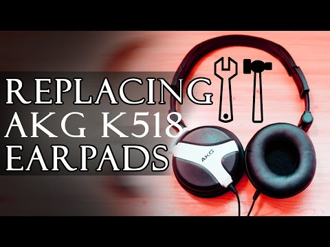 how-to-replace-ear-cushions-on-akg-k518le-headphones---repair/disassembly-guide