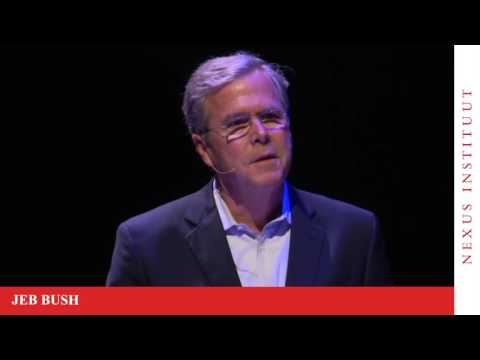 Jeb Bush and Rob Riemen on Democracy Today in the USA