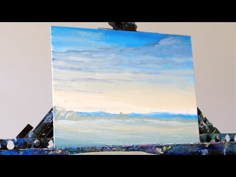 Spring Morning/Acrylic Painting Lesson