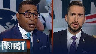 Nick Wright details Patriots dominant defense vs Jets & through 7 weeks | NFL | FIRST THINGS FIRST