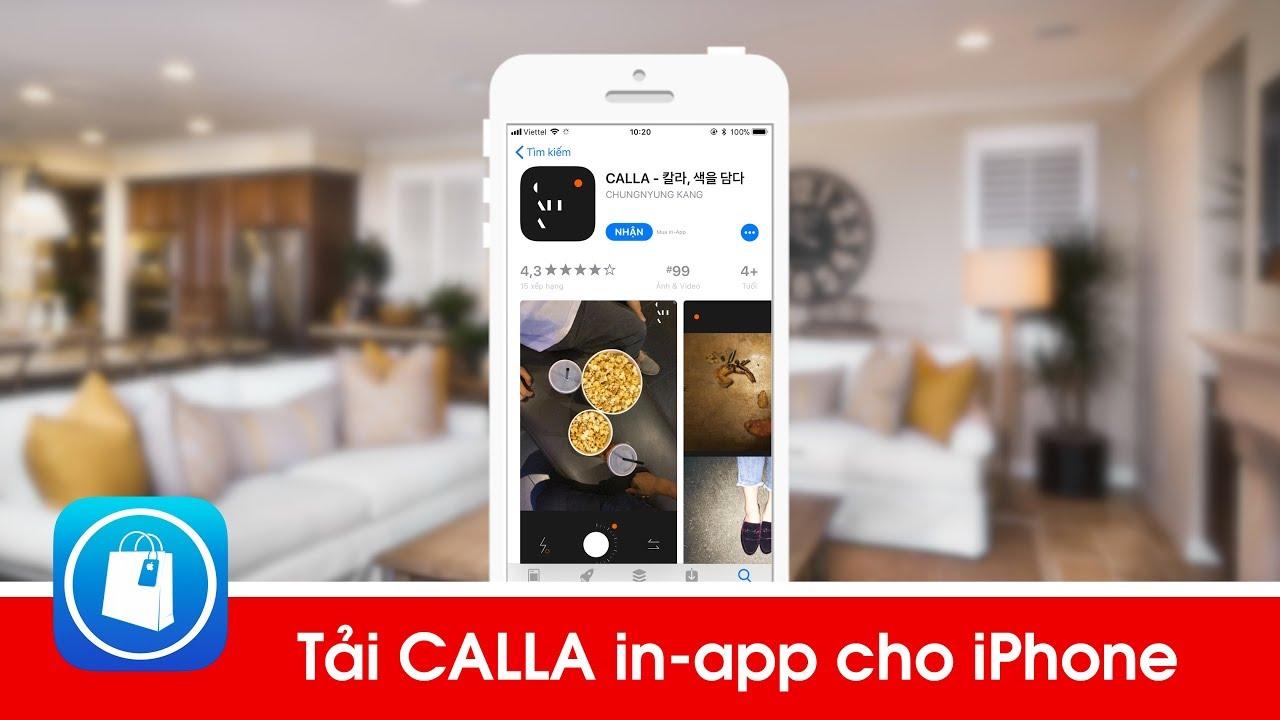 Tải CALLA - App chụp ảnh Film màu hàn quốc đẹp cho iPhone