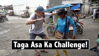 Foreigner Does Taga Asa Ka Challenge | Philippines Travel Vlog 02