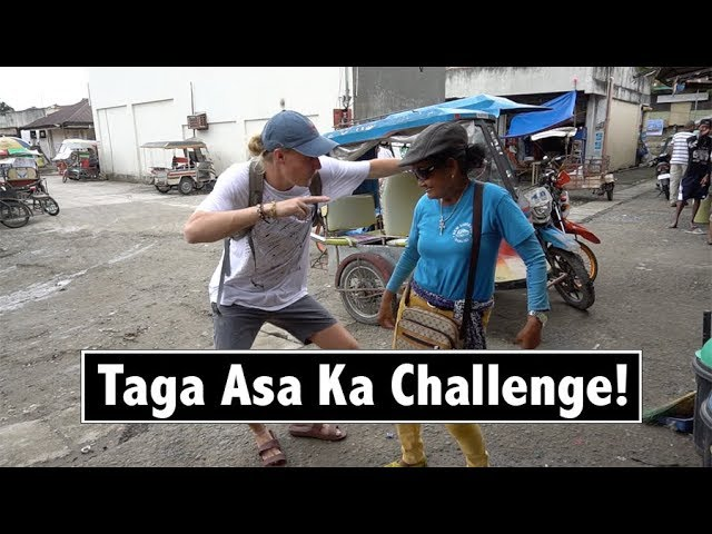 Foreigner Does Taga Asa Ka Challenge | Philippines Travel Vlog 02