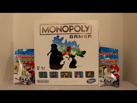 Monopoly Gamer Collector's Edition & Power Packs Unboxing!