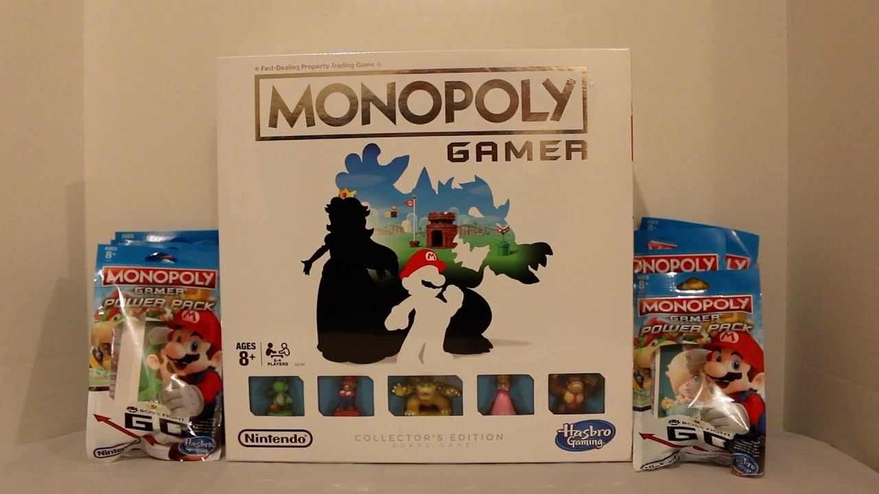 Monopoly Gamer Collector S Edition Power Packs Unboxing Youtube