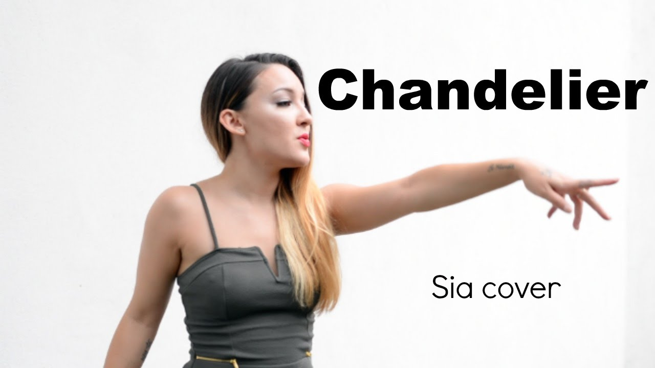 Chandelier - Sia | Cover by Meekha - YouTube