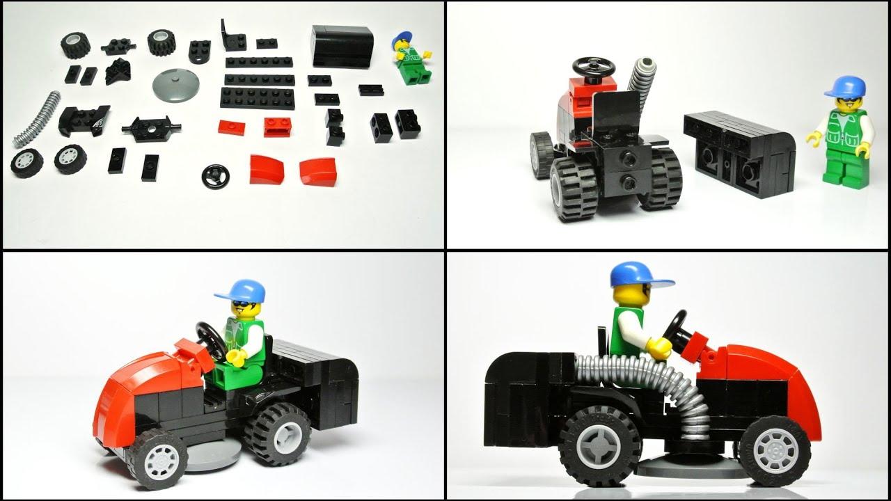 LEGO Lawnmower with mini figure