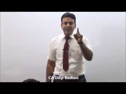Service Tax : Indirect Tax : AY 17-18 : Practical Problems : Lecture 1