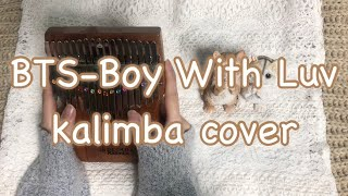 BTS - Boy With Luv (21`C Kalimba cover)