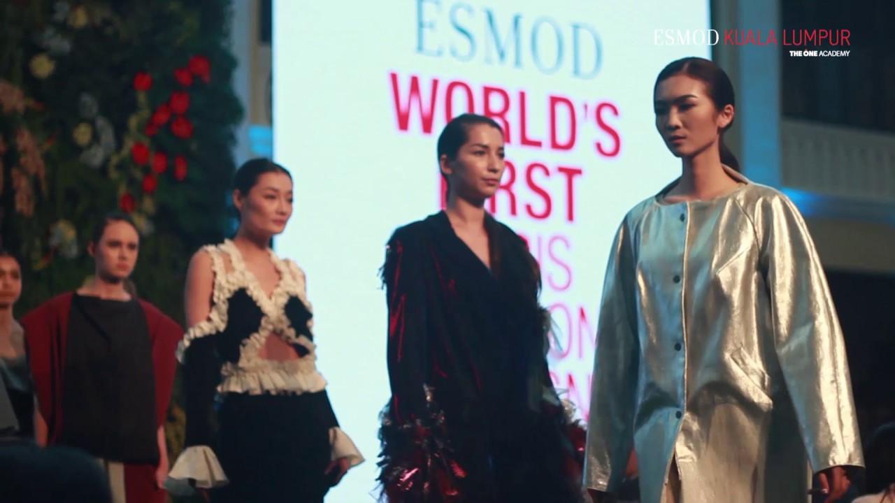Penang Fashion Week 2017 Esmod Kuala Lumpur Youtube