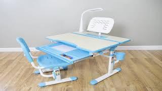 Adjustable Children Desk  - VIVO Deluxe Height Adjustable Children's Desk