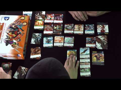 Press Play: FULL VERSION Teen Titans Deck Building Game Tutorial ComicWow! Cryptozoic Games
