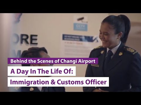 A Day in The Life Of: Immigration & Customs Officer