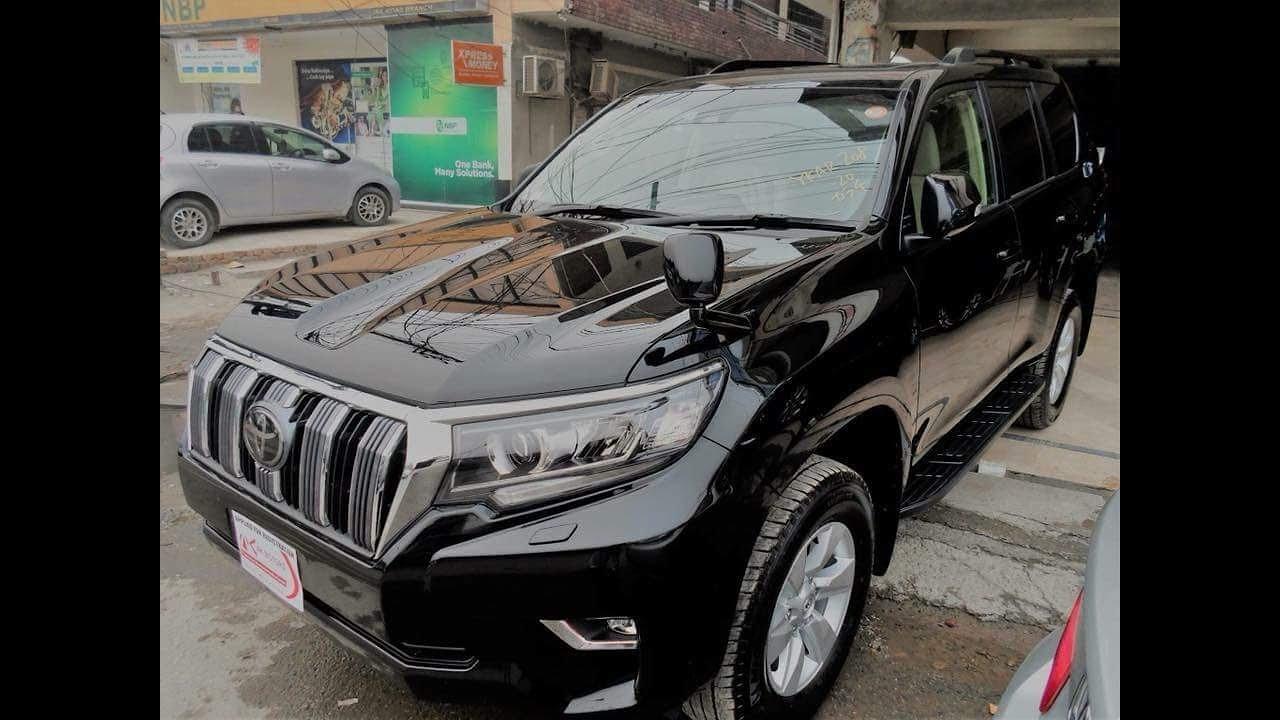 Toyota prado 2019 price in pakistan