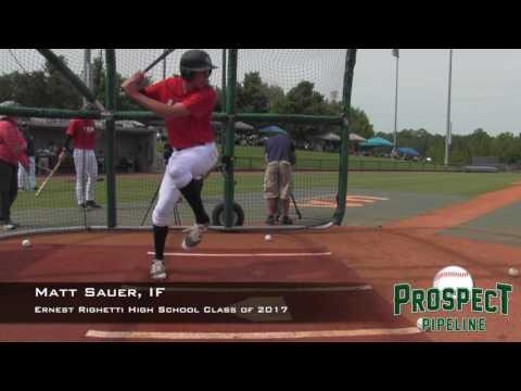 Matt Sauer prospect video, IF, Ernest Righetti High School Class of 2017