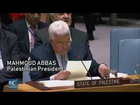 """""""Israel shut the door on the two-state solution,"""" Abbas tells UN"""