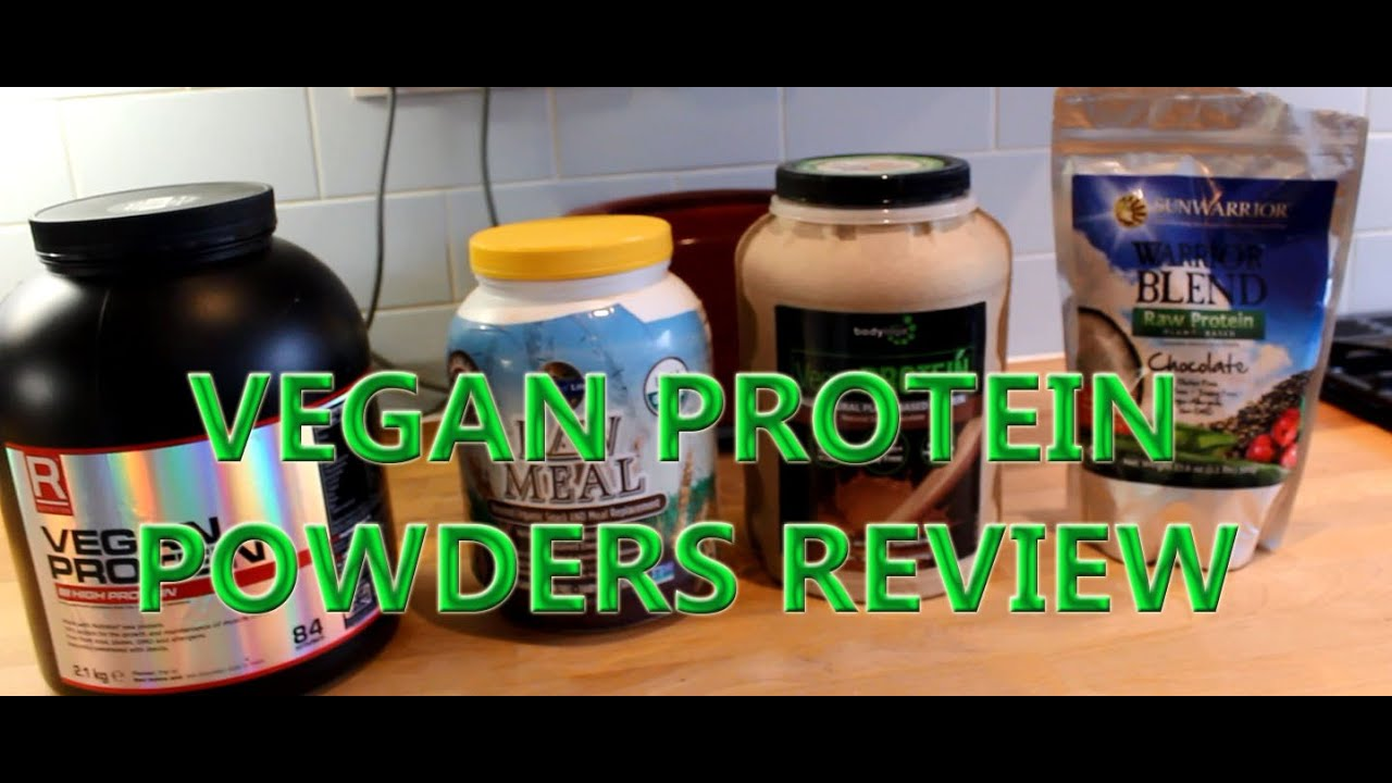 BEST VEGAN PROTEIN POWERS REVIEW GARDEN OF LIFE SUNWARRIOR BODY LOGIX ETC    YouTube