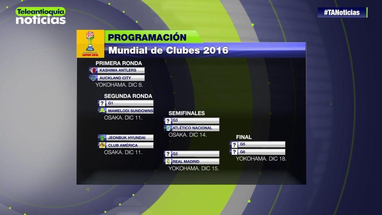 Calendario Mundial Clubes.Calendario Del Mundial De Clubes