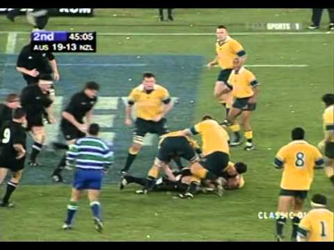 Rugby Bledisloe Cup 2001 - Australia vs. New Zealand