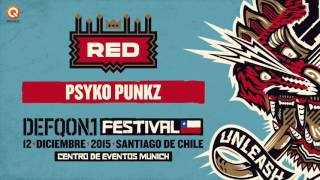 Defqon.1 Chile 2015 | RED mix by Psyko Punkz