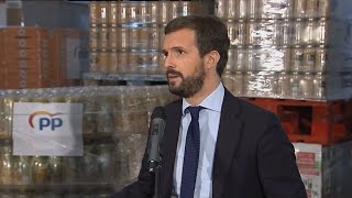 Casado dice que la armonización fiscal de Sánchez es